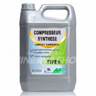 HUILE COMPRESSEUR A PISTON TYPE A MINERVA - 5 L