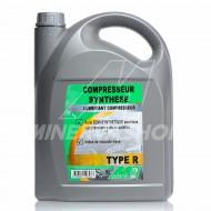 HUILE COMPRESSEUR A VIS TYPE R MINERVA - 5 L