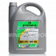 LUBRIFIANT 3A SYNTHESE MINERVA SAE 250 / ISO 680 - 5 L